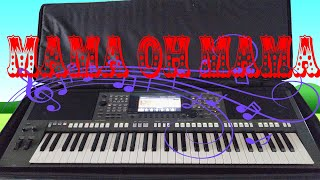 MẸ HIỀN YÊU DẤU (MAMAN OH MAMAN) - Keyboardist Bá Khang (organ Yamaha PSR-740)