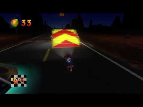 Crash Bandicoot N Sane Trilogy:(Crash 3) Area 51?- Box Gem + Race Gem