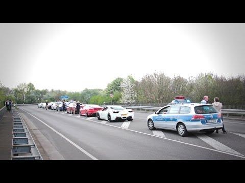 JDC TV  Spring Event '14  Crashing the Bugatti Veyron on the Highway!