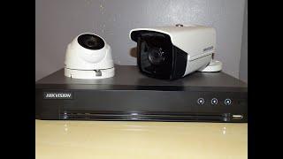 Monitoring HIKVISION. Rejestrator, kamery - podłączenie i pierwsze uruchomienie.