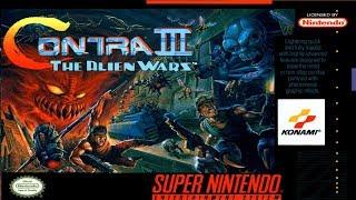 Contra III: The Alien Wars | Niveles: Suelo Cero y Derribando la Autopista | Super Nintendo | #1