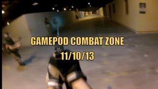 GAMEPOD COMBAT ZONE 11/10/13|G&P MK18|WE G19|GOPRO HERO3