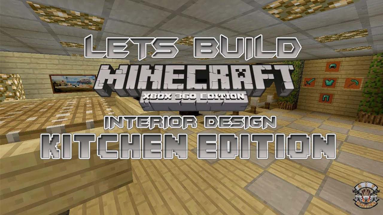 Minecraft Living Room Xbox 360 lets build minecraft xbox 360 edition - interior design kitchen