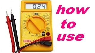 क्या आप को डिजिटल मल्टीमीटर का प्रयोग करना आता है.how to use digital multimeter /mobile repairing
