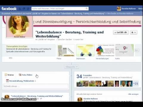 Facebook Video Einstellungen