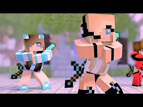 "Minecraft Songs and Minecrafts Animation ""Boys Cant Beat Me"" Psycho Girl 2 - Top Minecraft Songs"