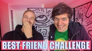One of KickThePj's most viewed videos: BEST FRIEND CHALLENGE feat. PEWDIEPIE