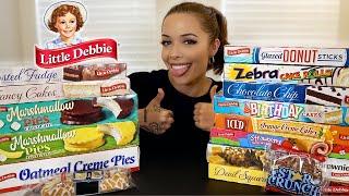TASTE TESTING Little Debbie Snacks! 🍰