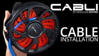 Singular Sound CABLI - Cable Installation