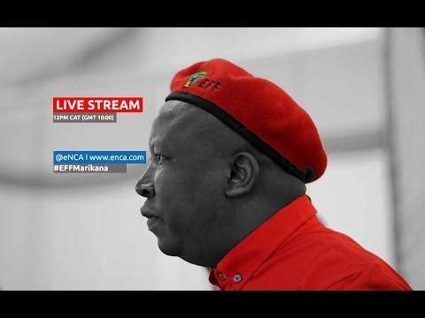 LIVE: Julius Malema speaks about the #MarikanaReport