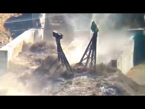 Avalanche Causes Major Flooding in Uttarakhand, India - Feb. 7, 2021