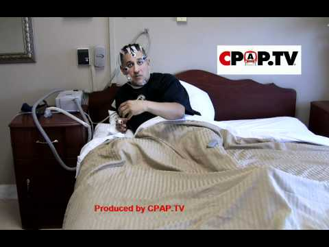 What happens during a sleep study for apnea