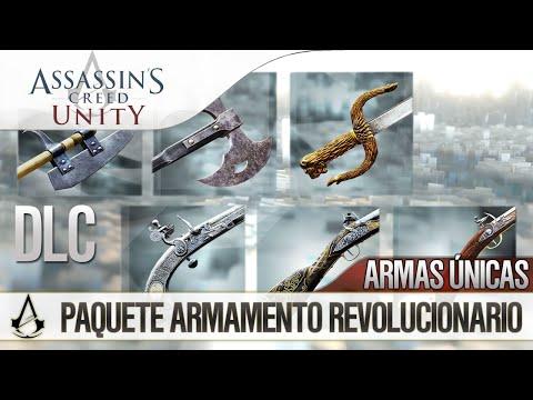 Assassin's Creed Unity | DLC | Paquete Armamento Revolucionario | 6 Armas Únicas | Review