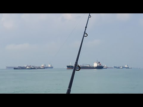 An Australian Fishing In Singapore - Bedok Jetty And East Coast Park
