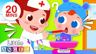 A Visit to the Doctor | Baby Goes to the Doctor | Kids Songs & Nursery Rhymes by Little Angel