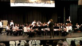 The John McCrae Concert Band performing Spitfire by Gary P Gilroy a...