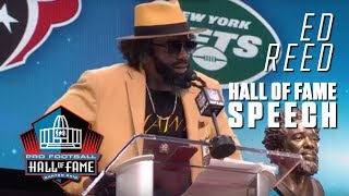 Ed Reed FULL Hall of Fame Speech | 2019 Pro Football Hall of Fame | NFL
