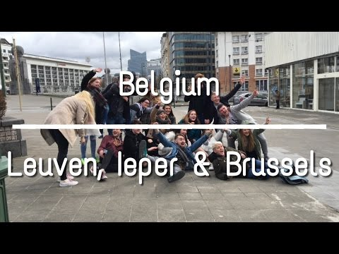 Belgium - Leuven, Ieper, & Brussels // VLOG #5