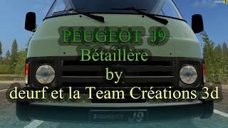 FS17   PEUGEOT  J9  Bétaillère beta  by deurf et la Team Créations 3d