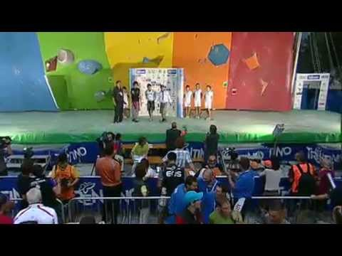 Climbing World Championship 2011 Boulder,Lead and Speed Arco, ITA - Boulder Men's Finals