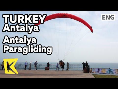 【K】Turkey Travel-Antalya[터키 여행-안탈리아]바다로 뛰는 패러글라이딩/Paragliding/Sea/Mediterranean