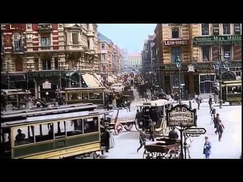 1900 COLOUR TEAR JERKER FROM 'THE TIME GURU' .GERMANY, BERLIN