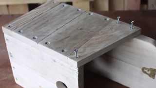 Make A Bird Box From Pallets