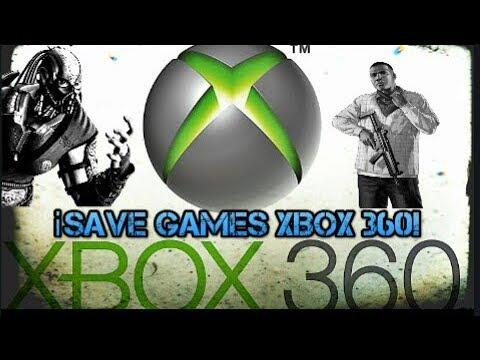Como Poner Save Games En Xbox 360 Youtube