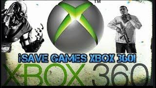 ¿como Poner Save Games En Xbox 360?
