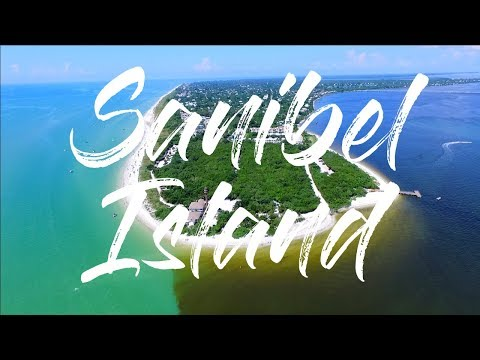 Sanibel Island & Captiva Island Florida by drone