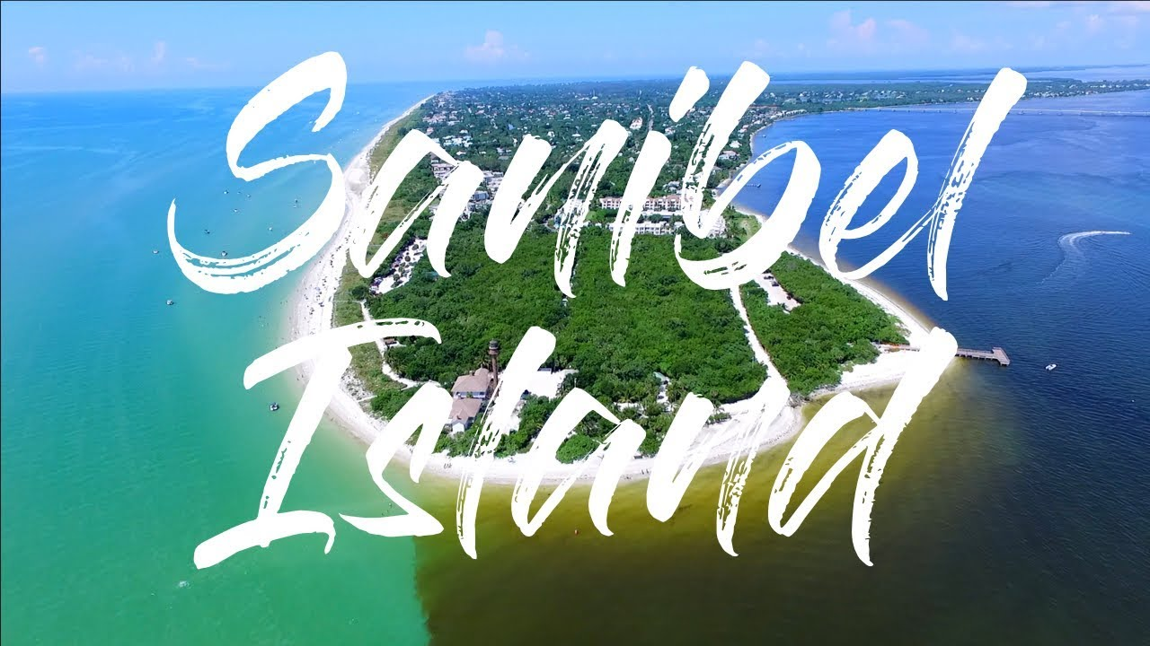 Sanibel Island & Captiva Island Florida by drone