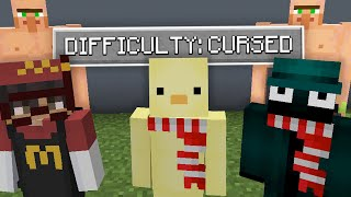 Minecraft but Last To Die In Hardest Difficulty WINS