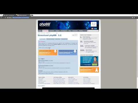 Come aggiornare il forum phpBB dalla versione 3.1 alla versione 3.2