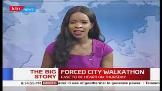 Forced City Walkathon: Commuters suffer as ban on matatus from CBD enforced| The Big Story Part 1