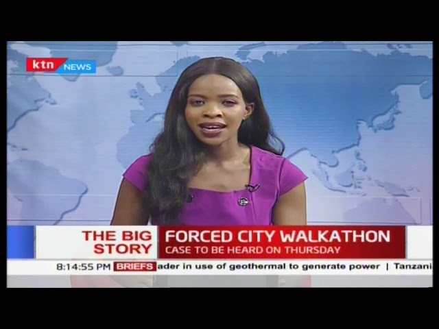 Video Forced City Walkathon Commuters Suffer As Ban On Matatus From Cbd Enforced The Big Story Part 1