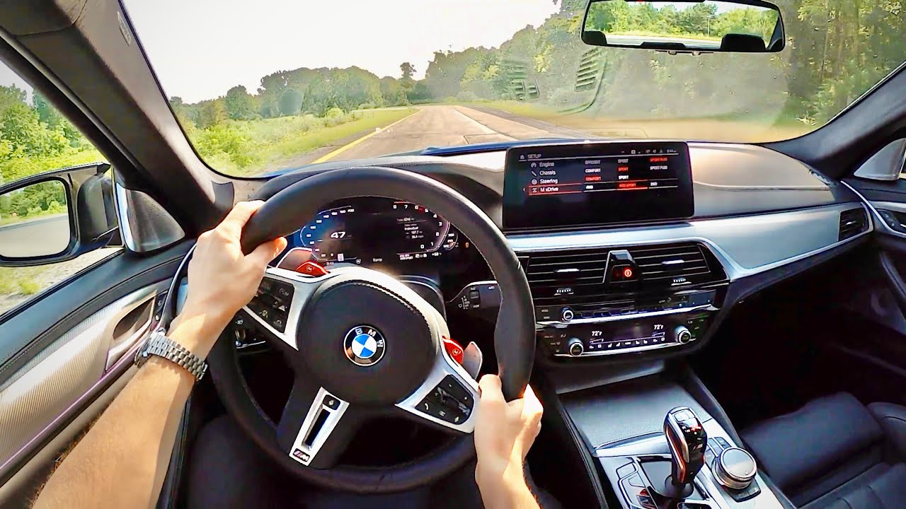 2021 BMW M5 Competition - POV Driving Impressions