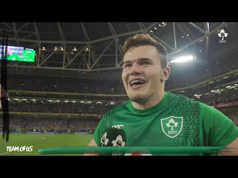 Irish Rugby TV: Jacob Stockdale On An Incredible Win