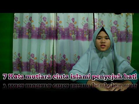 7 Kata Mutiara Cinta Islami Penyejuk Hati Youtube
