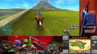 Legend of Zelda OoT Master Quest 3D 020 Saving Epona and Malon