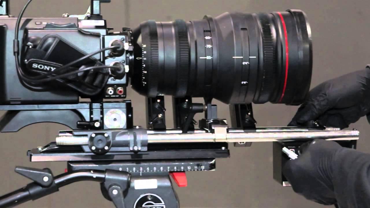 Cinegears Wireless Follow Focus Standard Kit Motor Test