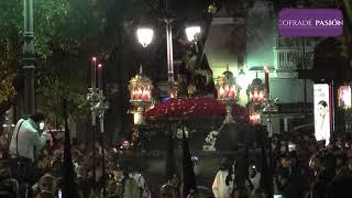 Jesús Caído por la Plaza de Mina y por C/ Antonio López (Semana Santa de Cádiz 2019)