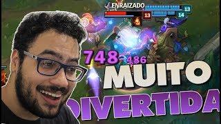 A ZOE É A CAMPEÃ MAIS DIVERTIDA - League of Legends