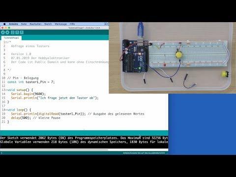 Der einfache Einstieg in Arduino & Co - 05_Digitale Eingänge
