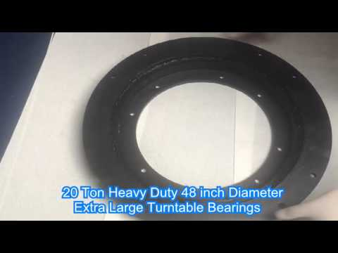 20 Ton Heavy Duty 48 Inch Diameter Extra Large Turntable Lazy Susan Bearings