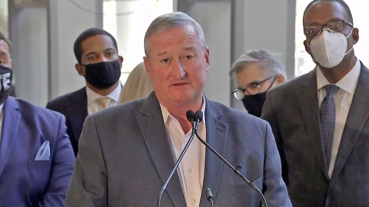 Philadelphia mayor tells Trump to accept 'he lost'
