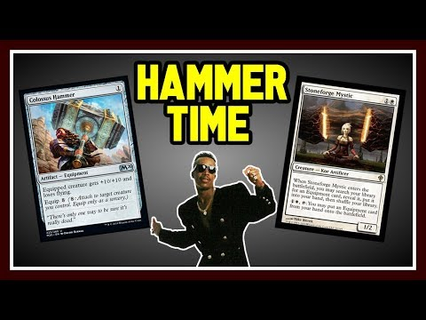 🔨 STONEFORGE HAMMER TIME 【 Best Stoneforge Deck? 】 ► MTG Modern Gameplay ◄