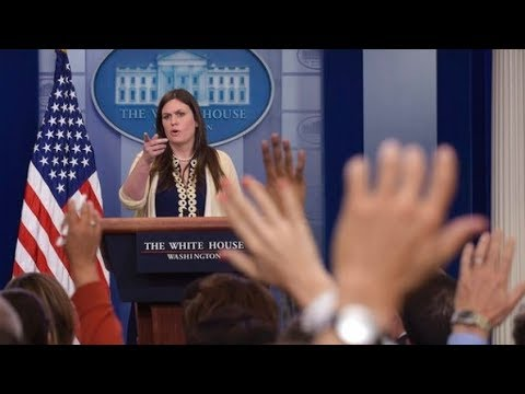 LIVE: WHITE HOUSE Holds Press Briefing SEAN SPICER RESIGNS 7/21/17