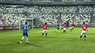 PES 2013 Demo - Oscar Volley Goal