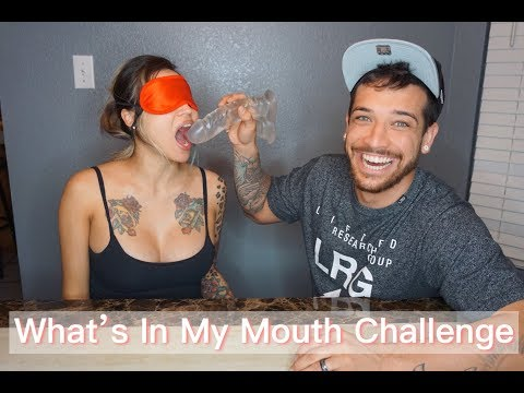 What's In My Mouth Challenge   Us Always