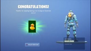 How to get Quack Backpack in Fortnite